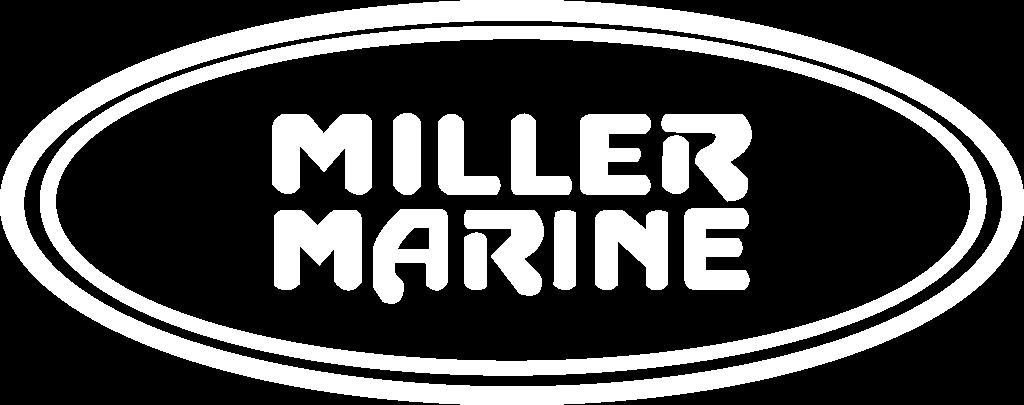 white miller marine logo